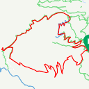 Map image of a Route from February 22, 2015
