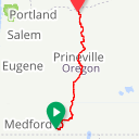 Map image of a Route from March  3, 2015