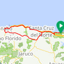 Map image of a Route from March 17, 2015