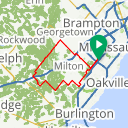 Map image of a Route from March 26, 2015