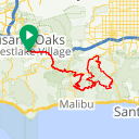 Map image of a Route from March 31, 2015