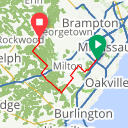 Map image of a Route from April 15, 2015