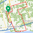 Map image of a Route from April 16, 2015