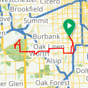 Map image of a Route from April 28, 2015