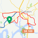 Map image of a Route from April 29, 2015