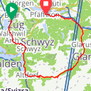 Map image of a Route from May  2, 2015