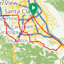 Map image of a Route from May  4, 2015