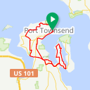 Map image of a Route from May  7, 2015