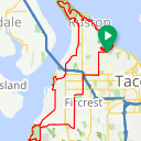 Map image of a Route from May  9, 2015
