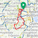 Map image of a Route from May 15, 2015