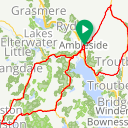 Map image of a Route from May 17, 2015