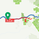 Map image of a Route from May 20, 2015
