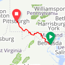 Map image of a Route from May 27, 2015