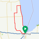 Map image of a Route from May 28, 2015
