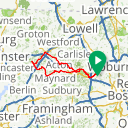 Map image of a Route from May 29, 2015