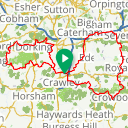 Map image of a Route from May 30, 2015