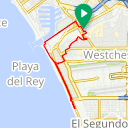 Map image of a Route from June  1, 2015