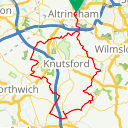 Map image of a Route from June 10, 2015