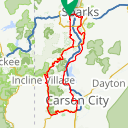 Map image of a Route from December  7, 2011