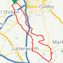 Map image of a Route from June 22, 2015