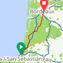 Map image of a Route from June 30, 2015