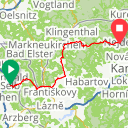 Map image of a Route from July  1, 2015