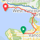 Map image of a Route from July  5, 2015