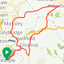 Map image of a Route from July  6, 2015