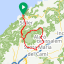 Map image of a Route from July 10, 2015