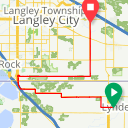 Map image of a Route from July 15, 2015