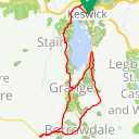 Map image of a Route from July 20, 2015