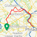 Map image of a Route from July 30, 2015