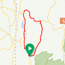 Map image of a Route from August  1, 2015