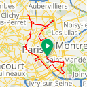 Map image of a Route from October 22, 2013