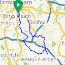 Map image of a Trip from March 20, 2011