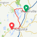 Map image of a Route from September 14, 2014