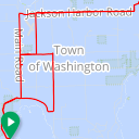 Map image of a Trip from September  8, 2016