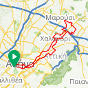 Map image of a Trip from September 23, 2016