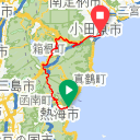 Map image of a Trip from January  3, 2017