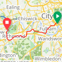Map image of a Trip from January 30, 2017