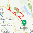 Map image of a Trip from February 18, 2017
