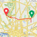 Map image of a Trip from May 27, 2013