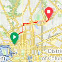 Map image of a Trip from May 29, 2013