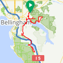 Map image of a Trip from April 25, 2017