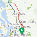 Map image of a Trip from April 29, 2017