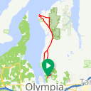 Map image of a Trip from May 17, 2017