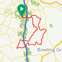 Map image of a Trip from May 20, 2017
