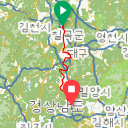 Map image of a Trip from June 14, 2017