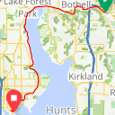 Map image of a Trip from June 22, 2017