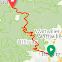 Map image of a Trip from August  1, 2013